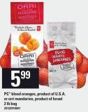PC Blood Oranges Or Orri Mandarins