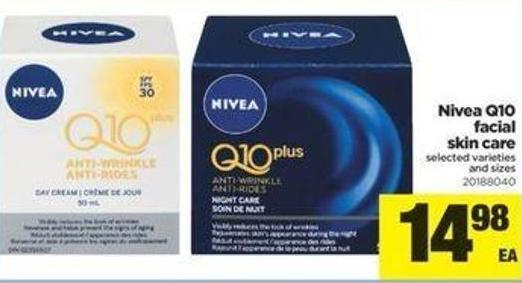Nivea Q10 Facial Skin Care
