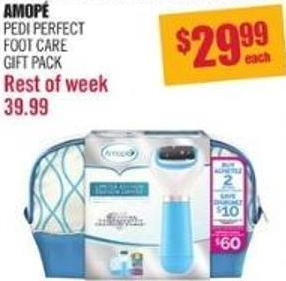 Amopé Pedi Perfect Foot Care Gift Pack