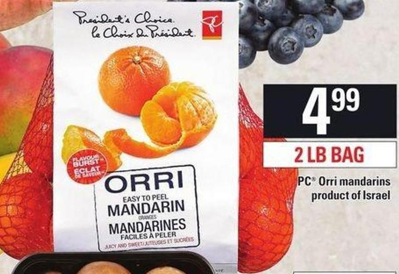 PC Orri Mandarins - 2 Lb Bag