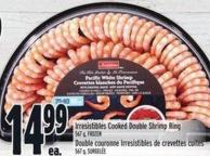 Irresistibles Cooked Double Shrimp Ring 567 g
