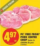 PC Free From Pork Centre Chop