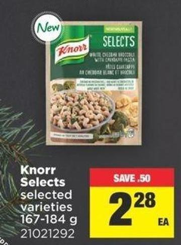 Knorr Selects - 167-184 g