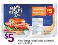 Main Street Deli Sliced Deli Meats