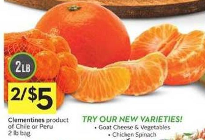 Clementines Product