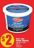 Gay Lea Sour Cream - 500 mL