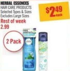 Herbal Essences Hair Care Products