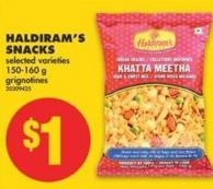 Haldiram's Snacks - 150/160 g