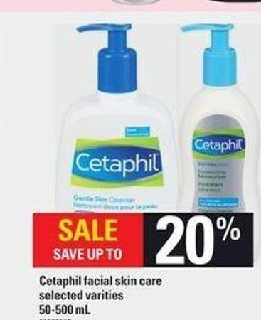 Cetaphil Facial Skin Care - 50-500 mL