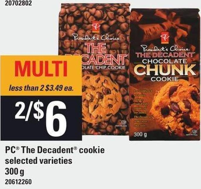 PC The Decadent Cookie - 300 g