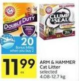 Arm & Hammer Cat Litter Selected 4.08-12.7 Kg 10 Air Miles Bonus Miles
