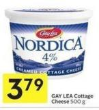 Gay Lea Cottage Cheese 500 g