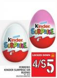 Ferrero Kinder Surprise Or Bueno