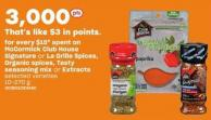 Mccormick Club House Signature Or La Grille Spices - Organic Spices - Tasty Seasoning Mix Or Extracts - 10-270 G