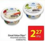 Great Value Dips