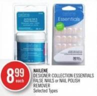 Nailene Designer Collection Essentials False Nails or Nail Polish Remover