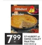 St-hubert or Swiss Chalet Meat Pies
