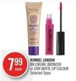 Rimmel London Rimmel London Bb Cream - Bronzer or Stay Matte Lip Colour