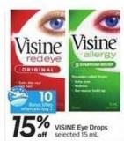 Visine Eye Drops - 10 Air Miles Bonus Miles
