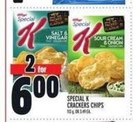 Kellogg's Special K Crackers Chips