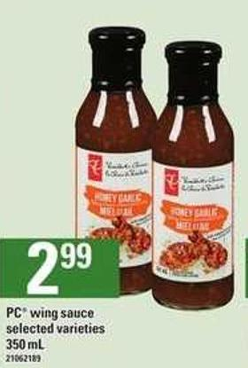 PC Wing Sauce - 350 mL