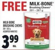 Milk-bone Brushing Chews 201 – 267 g  Milk-bone