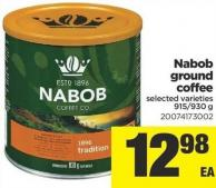 Nabob Ground Coffee - 915-930 g