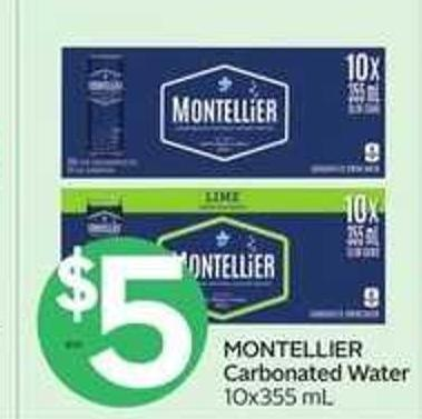 Montellier Carbonated Water