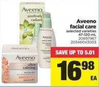Aveeno Facial Care - 47-120 mL