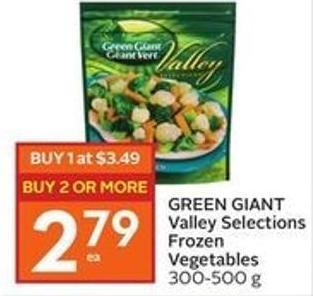 Green Giant Valley Selections Frozen Vegetables