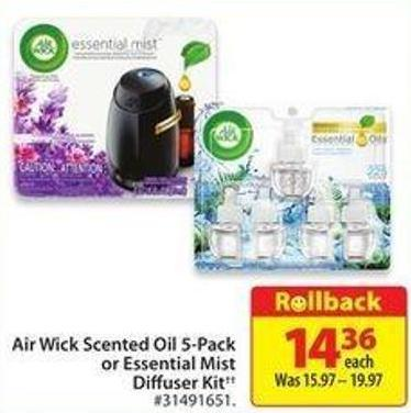Air Wick Essential Mist Lavender & Almond Blossom Fragrance