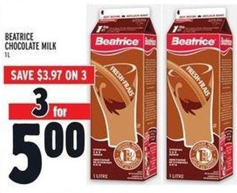Beatrice Chocolate Milk
