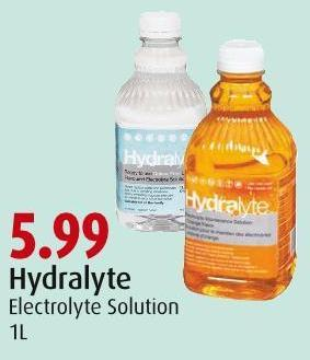 Hydralyte Electrolyte Solution 1l