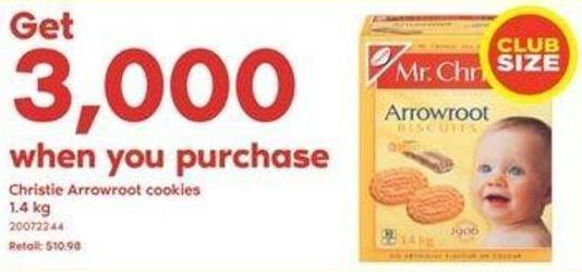 Christie Arrowroot Cookies - 1.4 Kg