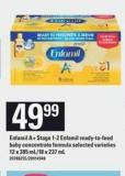 Enfamil A+ Stage 1-2 Enfamil Ready-to-feed Baby Concentrate Formula - 12 X 385 Ml/18 X 237 mL