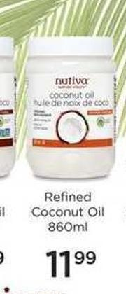 Refined Coconut Oil - 860ml