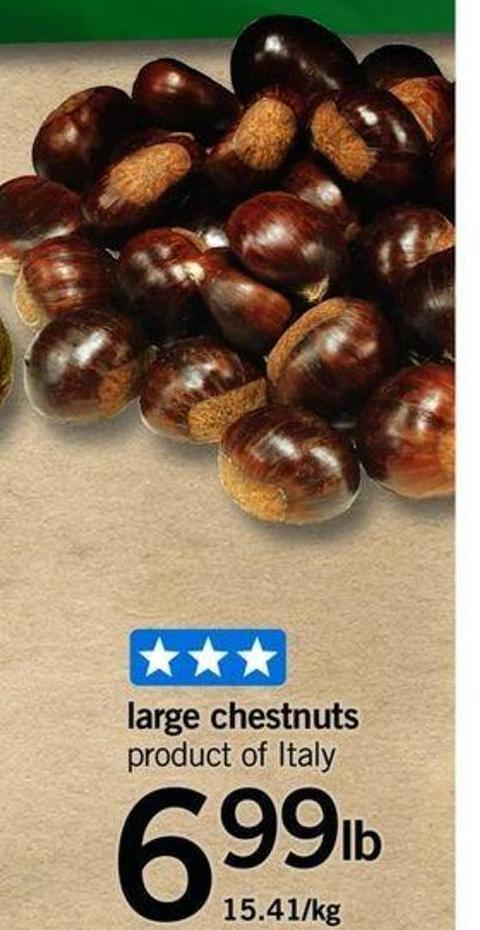Large Chestnuts
