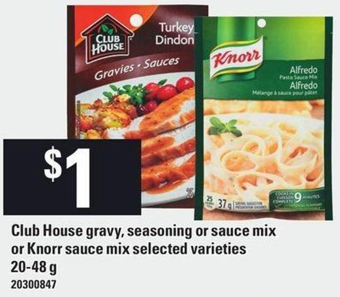 Club House Gravy - Seasoning Or Sauce Mix Or Knorr Sauce Mix 20-48 G