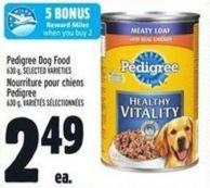 Pedigree Dog Food - 630 G