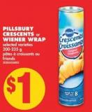 Pillsbury Crescents Or Wiener Wrap - 200-235 g