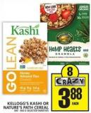 Kellogg's Kashi Or Nature's Path Cereal