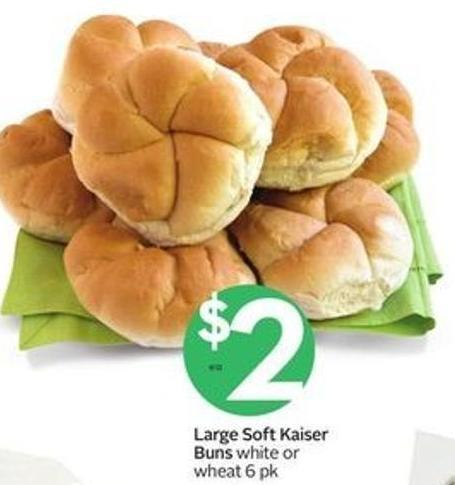 Large Soft Kaiser Buns