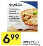 Compliments Meat Pies 660 g