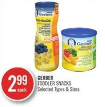 Gerber Toddler Snacks