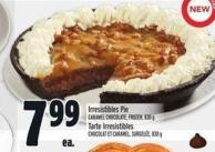 Irresistibles Pie Caramel Chocolate