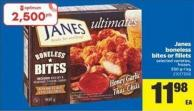Janes Boneless Bites Or Fillets - 550 G-1 Kg
