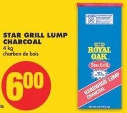 Star Grill Lump Charcoal - 4 Kg