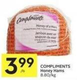 Compliments Honey Hams
