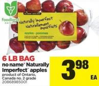 No Name Naturally Imperfect Apples - 6 Lb Bag