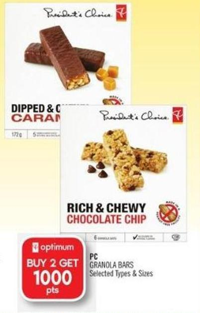 PC Granola Bars